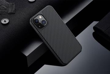 "Ốp dẻo carbon Nillkin FIBER iPhone 13 6.1"""